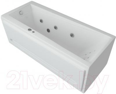 Ванна акриловая Aquatek Либра 170x70 L (с гидромассажем и экраном)