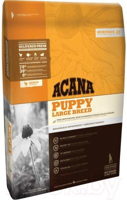 Корм для собак Acana Heritage Puppy Large Breed (17кг)