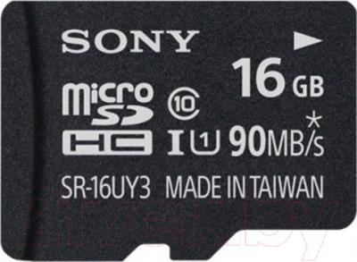 Карта памяти Sony microSDHC (Class 10) 16GB (SR16UY3A)