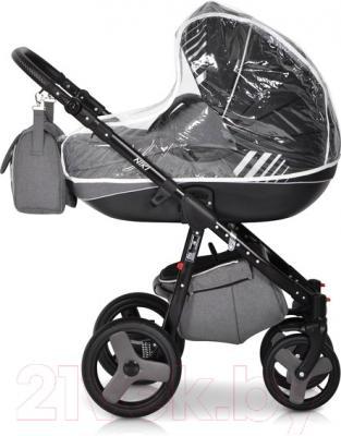 Детская универсальная коляска Riko Niki 2 в 1 (07/Carbon)