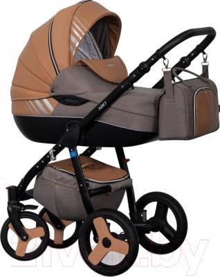 Детская универсальная коляска Riko Niki 2 в 1 (10/Caramel)