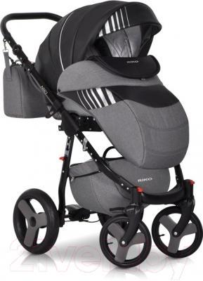 Детская универсальная коляска Riko Niki 2 в 1 (10/Caramel) - внешний вид на примере модели другого цвета