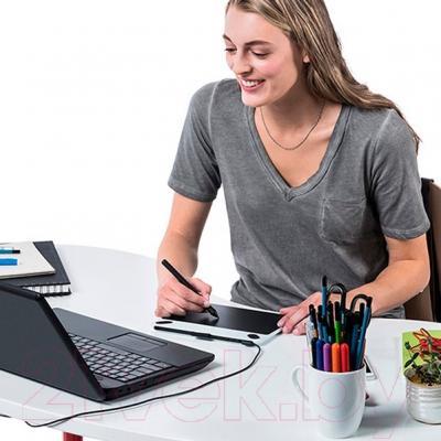 Графический планшет Wacom Intuos Draw / CTL-490DB-N (синий)