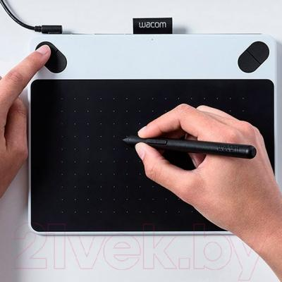 Графический планшет Wacom Intuos Draw / CTL-490DW-N (белый)