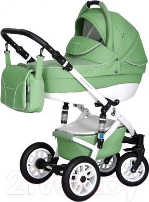 Детская универсальная коляска Riko Essence 2 в 1 (08/Aplle Green)