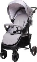 Детская прогулочная коляска 4Baby Rapid Premium (светло-серый) -