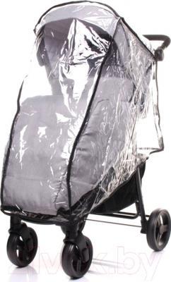 Детская прогулочная коляска 4Baby Rapid Premium (светло-серый)