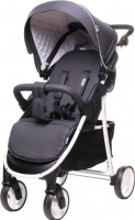 Детская прогулочная коляска 4Baby Rapid Premium (темно-серый) -