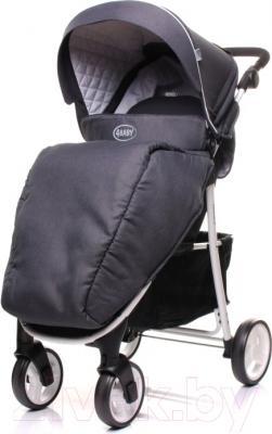 Детская прогулочная коляска 4Baby Rapid Premium (темно-серый)