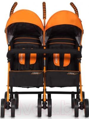 Детская прогулочная коляска EasyGo Duo Comfort (Electric Orange)