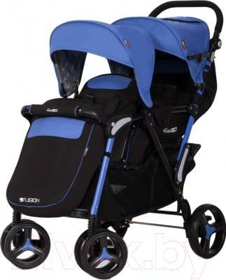 Детская прогулочная коляска EasyGo Fusion (Supphire)