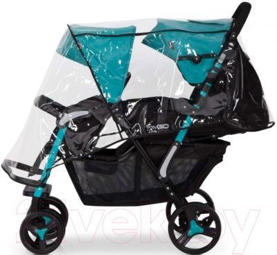 Детская прогулочная коляска EasyGo Fusion (Supphire) - внешний вид на примере модели другого цвета