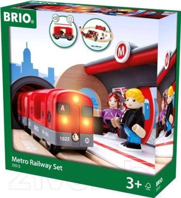 Элемент железной дороги Brio Метрополитен 33513