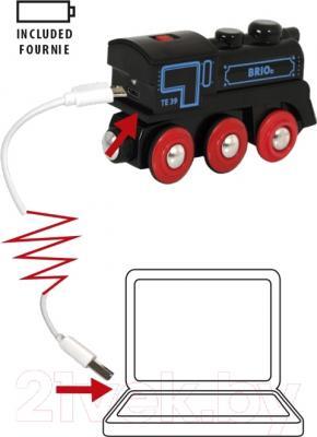 Элемент железной дороги Brio Паровоз 33599