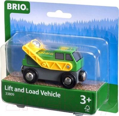 Элемент железной дороги Brio Погрузчик 33809