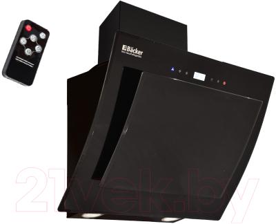 Вытяжка декоративная Backer AH60E-TG8L200 Black Glass