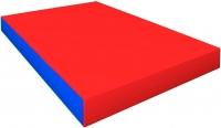 Гимнастический мат Зубрава 0.5х0.6х0.1 (красный/синий) -