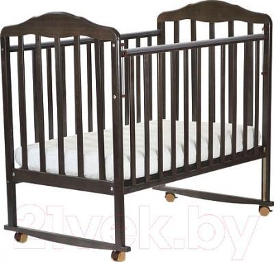 Детская кроватка СКВ Березка 120118 (венге)