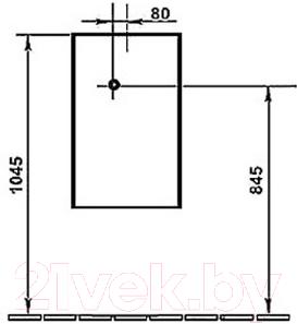 Сливной бачок Duravit Starсk (8727000005) - схема