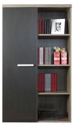 Шкаф Black Red White Bonn B15-REG1D/13/8 (ясень коимбра темный)