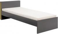 Каркас кровати Black Red White Graphic S202-LOZ/90 (серый вольфрам) -