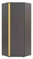 Шкаф Black Red White Graphic S202-SZFN1D (серый вольфрам) -