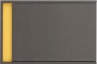Шкаф навесной Black Red White Grafic S202-SFW1DP (серый вольфрам) -