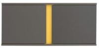 Шкаф навесной Black Red White Graphic S202-SFW2D/86/38 (серый вольфрам) -