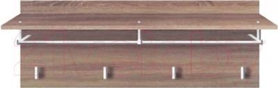 Вешалка для одежды Black Red White Homeline S122-PAN/4/8 (дуб сонома темный)
