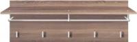 Вешалка для одежды Black Red White Homeline S122-PAN/4/11 (дуб сонома темный) -