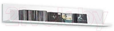 Полка Black Red White Jang S92-PAN-2-12 (белый блеск)