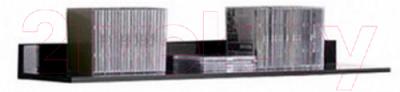 Полка Black Red White Jang S92-P-1-11 (черный глянец)
