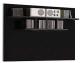 Полка Black Red White Jang S92-PAN-8-11 (черный блеск) -