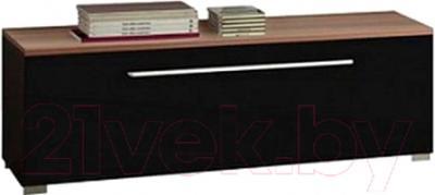 Тумба Black Red White Jang S92-RTV1S-4-11 (черный блеск)