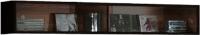Шкаф навесной Black Red White Jang S92-SFW2W-2-12 (черный блеск) -