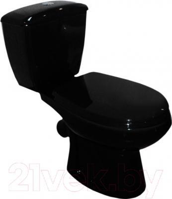 Унитаз напольный Оскольская керамика Элисса (черный)