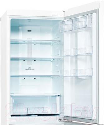Холодильник с морозильником LG GA-B409SQQL