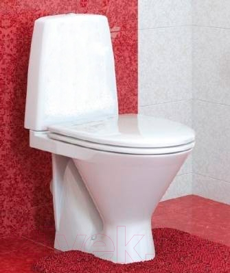 Унитаз напольный Оскольская керамика Милана Люкс (белый)