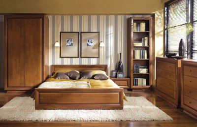 Каркас кровати Black Red White Largo Classic LOZ 90 (вишня итальянская)