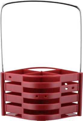 Набор столовых приборов Peterhof PH-22120 (25пр, красный/синий)