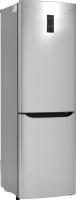 Холодильник с морозильником LG GA-B409SAQL -