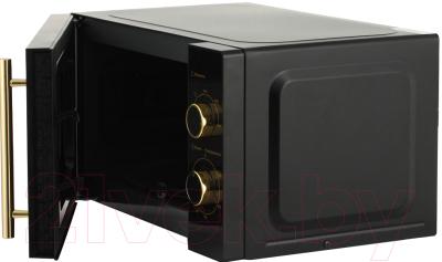 Микроволновая печь Midea MM820CMF-BG - с открытой дверцей