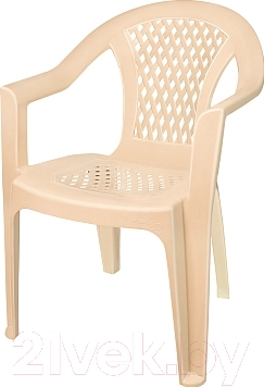 Кресло садовое Эльфпласт 042 (бежевый)