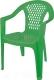 Стул пластиковый Эльфпласт 042 (зеленый) -