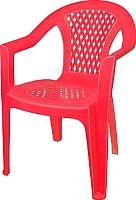 Стул пластиковый Эльфпласт 042 (красный) -