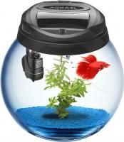 Аквариумный набор Aquael Bowl Sphere 37 113442 (черный) -