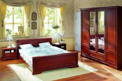 Каркас кровати Black Red White Стилиус NLOZ 160
