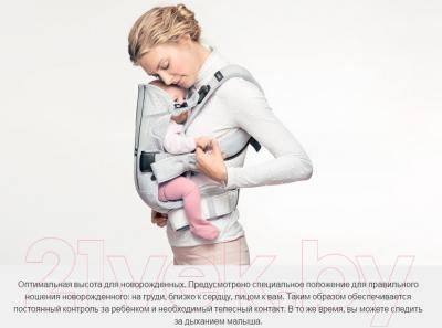 Эрго-рюкзак BabyBjorn One Air Mesh 0930.08 (пепельно-синий)