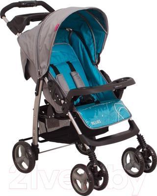 Детская прогулочная коляска Coto baby Blues 2016 (09/бирюзовый)
