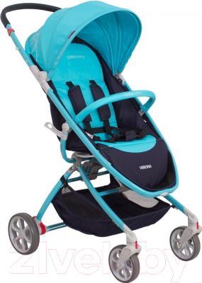 Детская прогулочная коляска Coto baby Verona (09/бирюзовый)